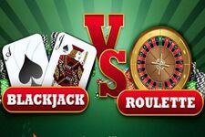 blackjack vs roulette example of