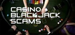 Blackjack Scams example of